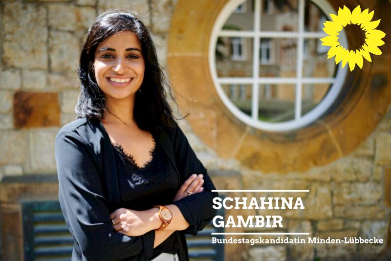 Schahina Gambir Bundestagskandidatin