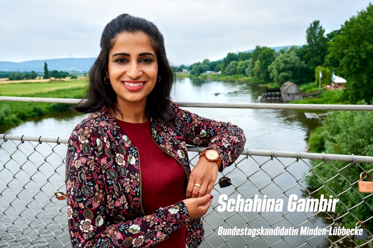 Schahina Gambir Bundestagsabgeordnete